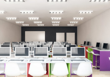 Bespoke School Computer Room Furniture in Solihull