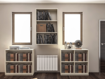 Head Teacher bespoke storage in Warwick